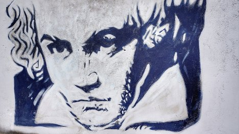Ludwig Beethoven Graffiti